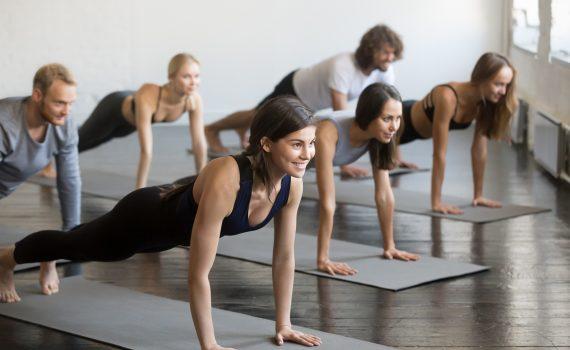 leicht trainierter körper