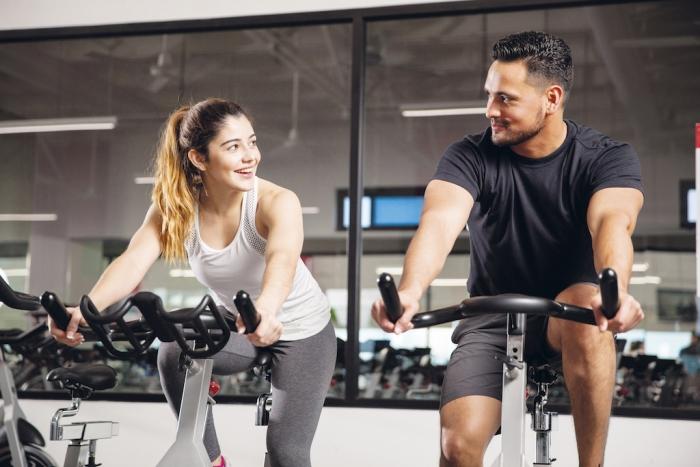 Flirten fitnessstudio